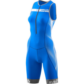 sailfish Comp Triathlon-puku Naiset, blue/white